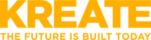 Kreate logo yellow
