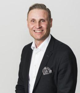 Toimitusjohtaja Timo Vikström Kreaten johtoryhmä