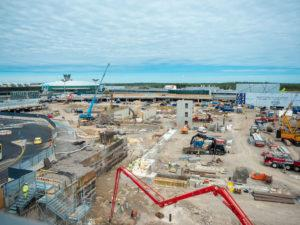 Helsinki-Vantaan lentoasema T2 infrarakentaminen